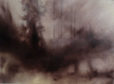 Haunted- Poland I Oil on Polyester 28 x 38 cm