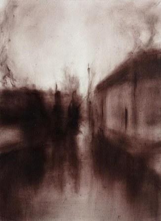 Twilight- Bruges II Oil on polyester38 x 28 cm
