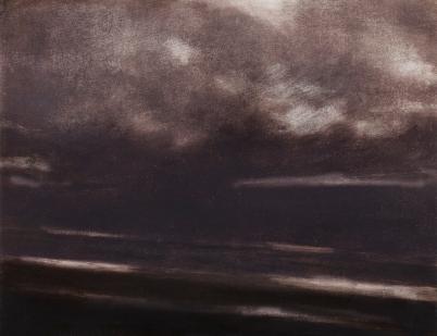 Twilight Rd M25_I Oil on Polyester 32x41.5cm
