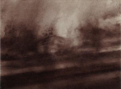 Twilight Rd to Bregenz IV Oil on Polyester 29x38cm