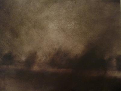 Twilight Rd to Bregenz VIII Oil on Polyester 29x38cm
