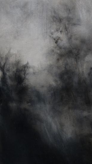 4. Twilight - Bruges IX. Oil on linen 40 x 23 cm