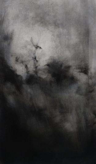 5. Twilight - Bruges X. Oil on linen 40 x 23 cm